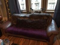 Tan / Light Brown Couch
