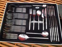44 piece cutlery set,unused.