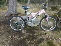 Girls mountain bike reebok active