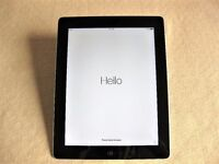 "Apple iPad 4 9.7"" 128GB Wifi Black – Excellent condition"