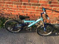 "Ammaco Hillhopper 20"" Wheel Mountain Bike. Serviced. Free Lock Lights, Delivery"