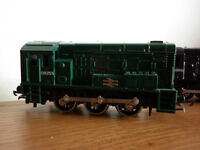 oo gauge lima shunters reworked fictional liveries nice runners £22 EACH PLYMOUTH AREA.