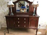 Antique Sideboard (Victorian style) with mirror
