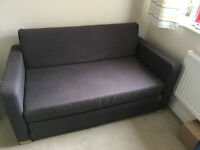 Ikea 2 Seater Sofabed - Double - Dark Grey