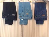 Jeans wrangler £ 25 each