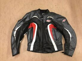 Men's motorbike leathers-jacket and trousers