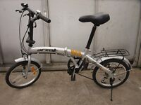 Folding children bike (like new)