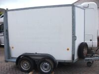 Ifor Williams box trailer with ramp and doors 9ft6inchx5ft x6ft high