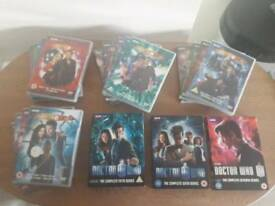 Dr Who boxset bundle Series 1 -7 plus Specials