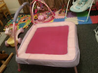 Pink Kids Trampoline - DELIVERY AVAILABLE