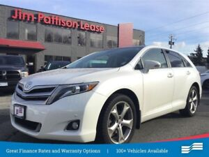 2016 Toyota Venza Limited V6 w/leather, nav, pana roof