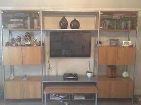 Television storage unit