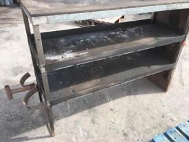 Van/Workshop Metal Shelving