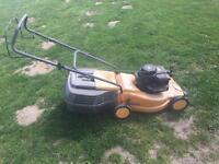 partner briggs stratton classic 35 push mower good working order just had blade sharpened
