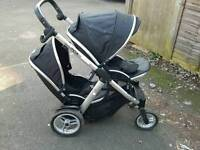 Oyster max double pushchair tandem