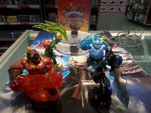 Skylander video game with launch pad and 4 characters. We sell used video games and consoles. (#44511)