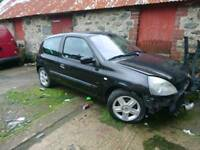 Clio 1.2 16v needs small amount of work