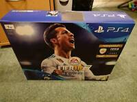 SONY PLAYSTATION 4 SLIM 1TB BRAND NEW AND FACTORY SEALED WITH FIFA 18