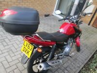 For sale : Yamaha YBR 125 motorcycle: reliable and in full working condition!