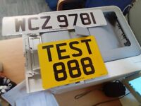 Car Number plate making running business