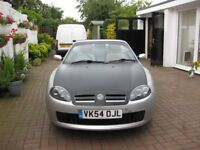 MGtf 135 silver/Black full MOT Excellent condition many extras