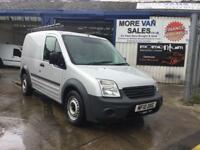 2010 silver top spec ford transit connect 1.8tdci 90bhp roof rack 7m mot ready for work px welcome