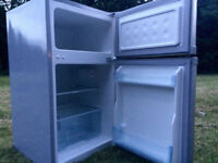 LOGIK UNDER COUNTER FRIDGE FREEZER FREE DELIVERY