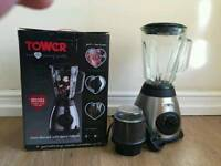 Tower glass jar blender with grinder
