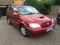 Kia Sedona 2.9 LS Automatic, MOT until May 2017 * FOR SALE FOR PARTS AND SPARES