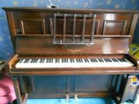 Upright Piano - Squire and Longson, London. Excellent condition