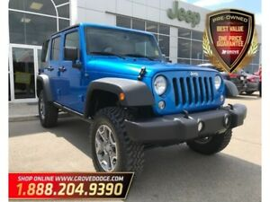 2015 Jeep WRANGLER UNLIMITED Sport| Cloth| CD Player| Bluetooth