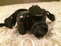 Nikon D90 + Nikkor AF-S 50mm f/1.8G, quick sale, offers welcome.