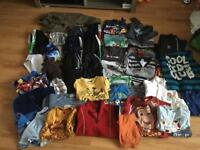 Boys clothes bundle 5-6 years over 50 items