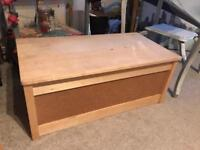 Ikea (small) wooden chest/trunk