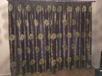 2 pairs of lined curtains from BHS in near perfect condition