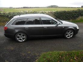 2005 55 Audi A6 S-Line Avant 2.0T fsi 170bhp FSH, Long MOT, Great Drive, Excellent Estate car