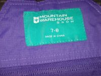 Mountain Warehouse kids ski pants
