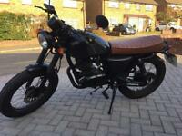 Mutt Mongrel 125cc 2016 (66 Plate) Motorcycle