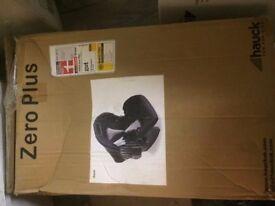 Hauck Zero Plus Car seat (Black) (Brand New)