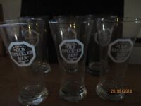 'Old Speckled Hen' branded glasses
