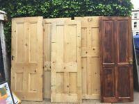 Free - x5 wooden doors