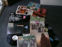 VINYL RECORDS x 10,Pink floyd,Jethro Tull,Beach boys etc