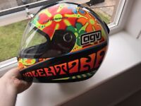 AGV Motorcycle Helmet: Valentino (Small; worn once) - £75