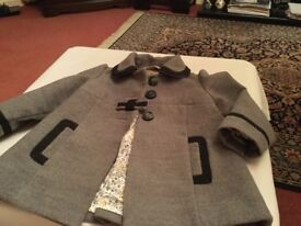 Next girls coat fully lined Age 2-3 Years £8 can deliver if local