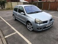 RENUALT CLIO 2.0 172- 105K MILES, 12 MONTH MOT , FULL SERVICE HISTORY , HPI CLEAR