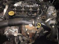 VAUXHALL CDTI A17DTR ENGINE 70,000