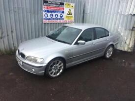 breaking for spares bmw 330i auto 2001 63k miles