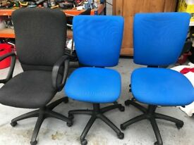 2 office chairs, £10 each