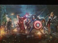 Avengers Assemble canvas poster