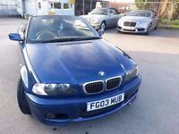 2003 BMW 330 M CONVERTIBLE.s & M,sport DEISEL,coupe & Z4,s & 520 dsl new S SWAPS AND PART EX CONSID